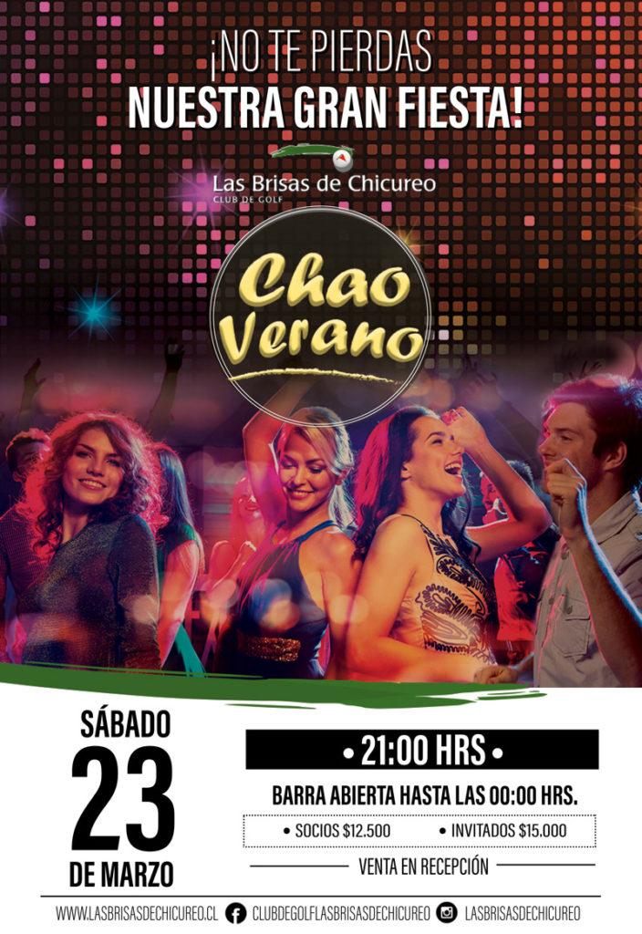 Fiesta Chao Verano 2019