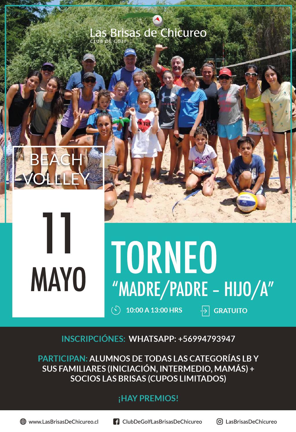 Beach Volley – Copa Padres e hijos
