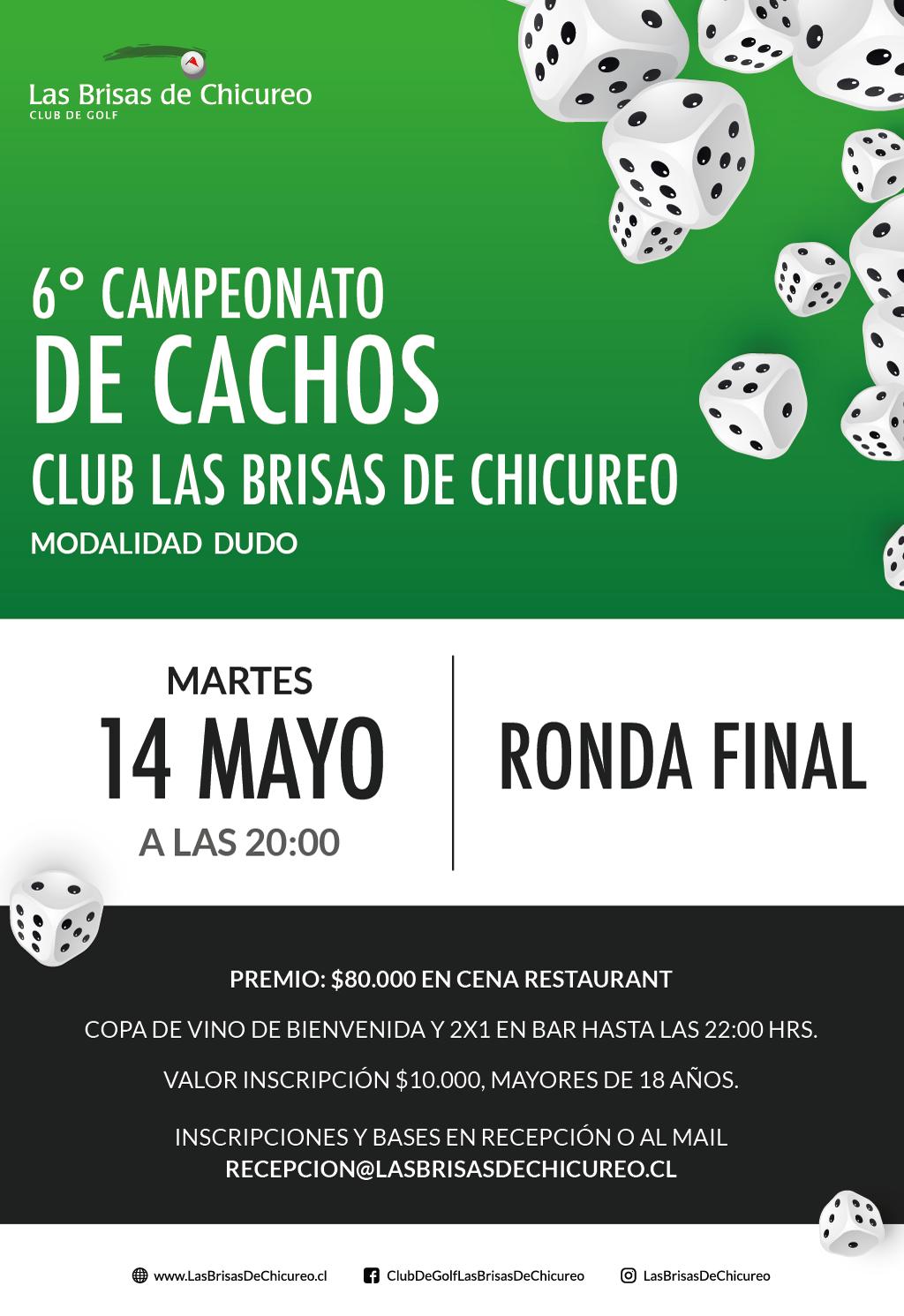 Copa Cacho final 14 de Mayo