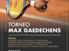 Torneo Max Gaedechens