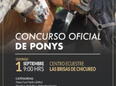 Concurso Oficial de Ponys