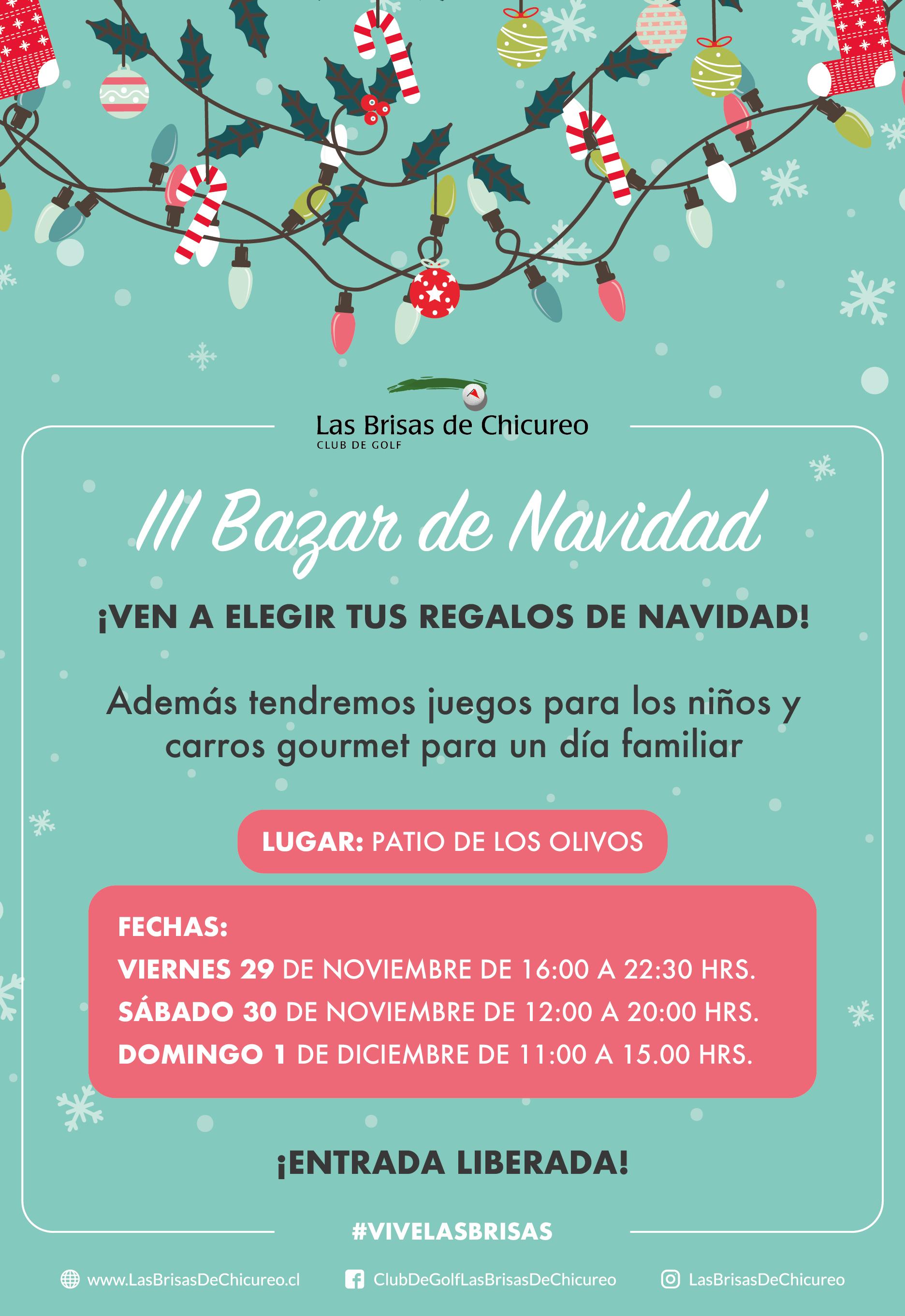 III Bazar de Navidad