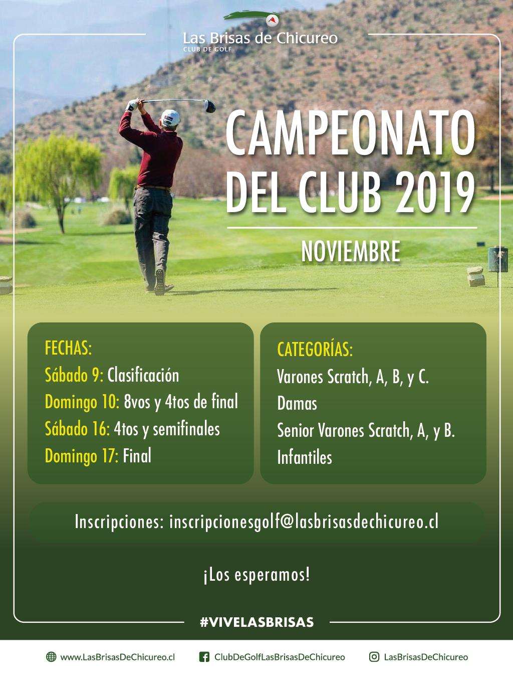 Campeonato del Club 2019
